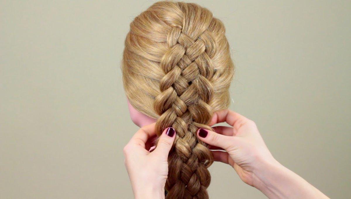 плетение волос разными способами фото украшает