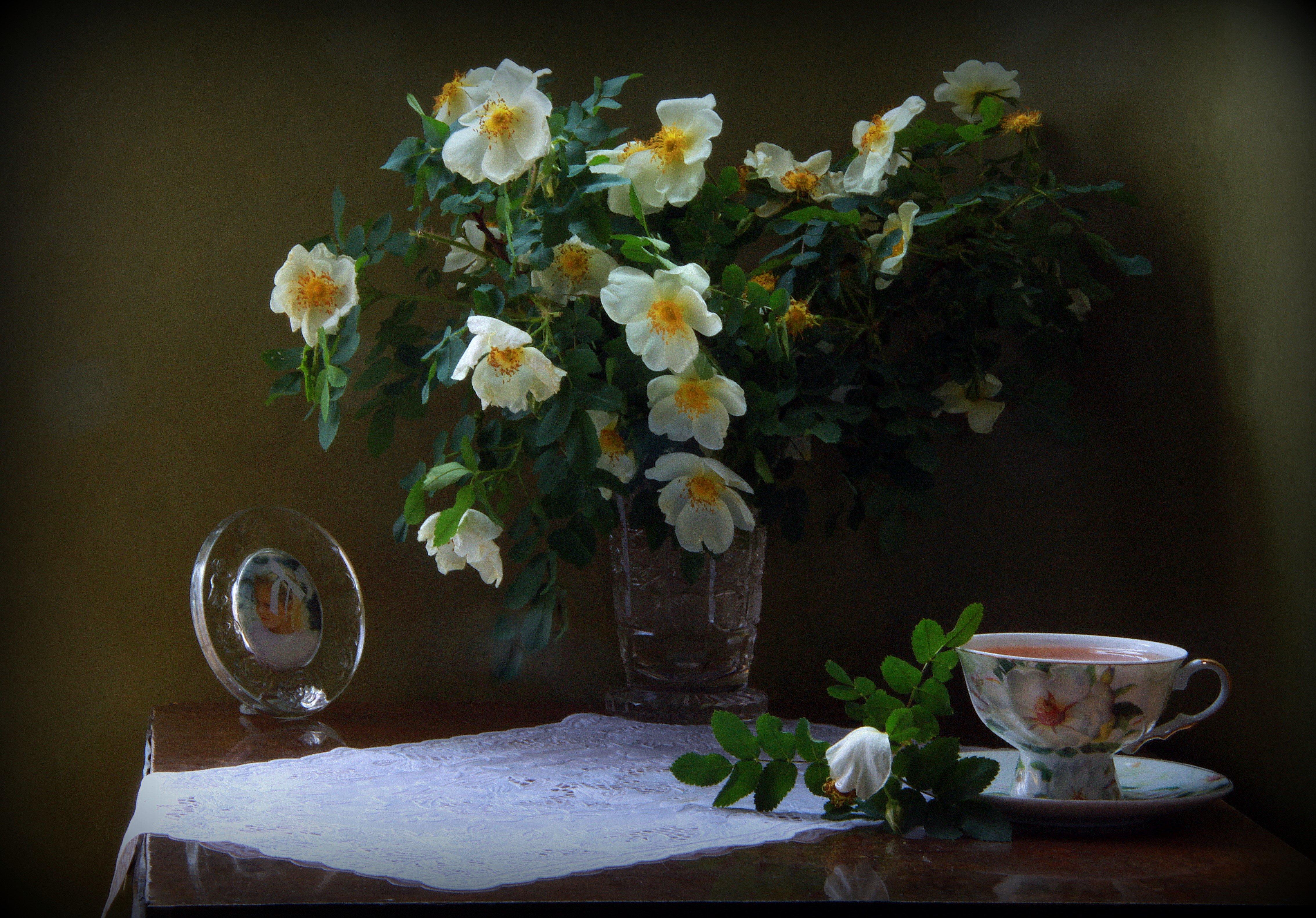Душистый чай с ароматом шиповника