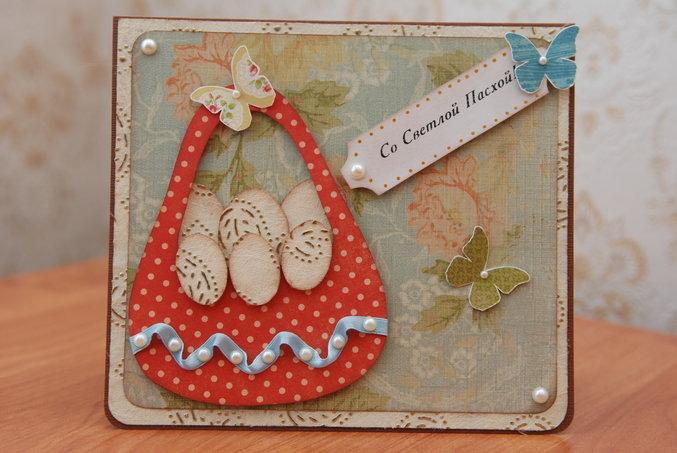 Пасхальные открытки скрапбукинг для начинающих