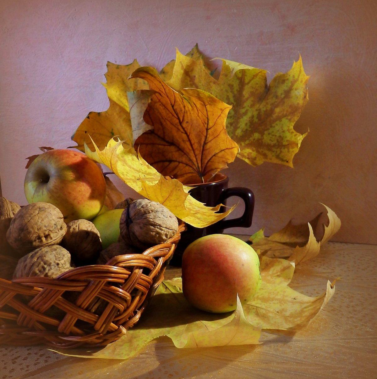 Осенний натюрморт открытки