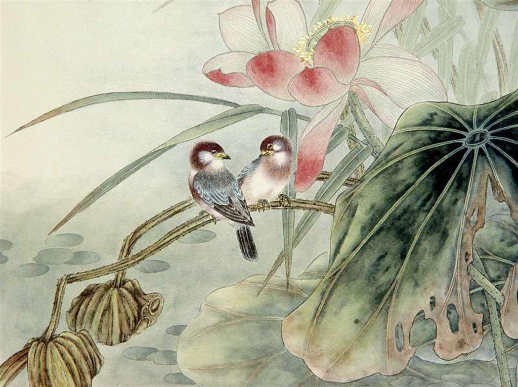 Картинки птицы в китайской живописи
