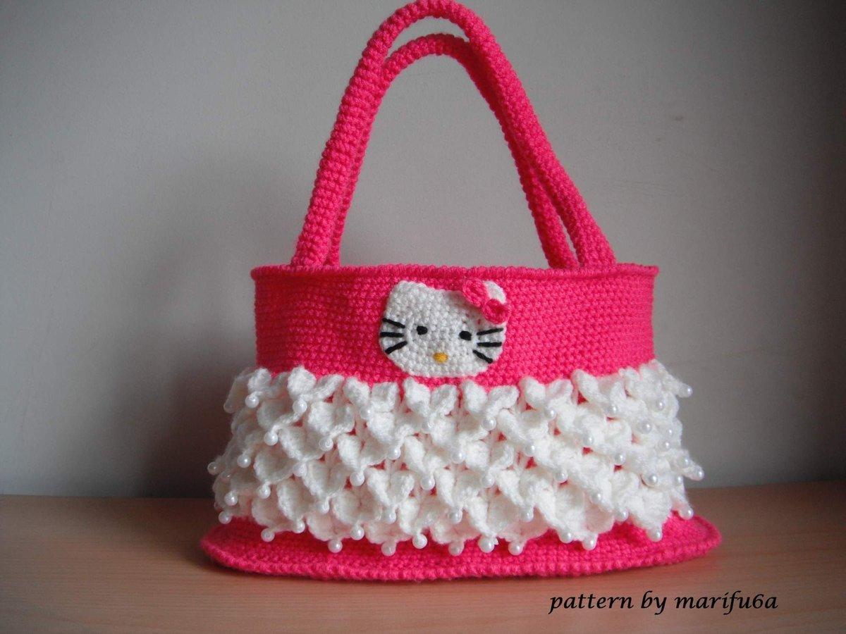 Детская сумка крючком схема фото 464