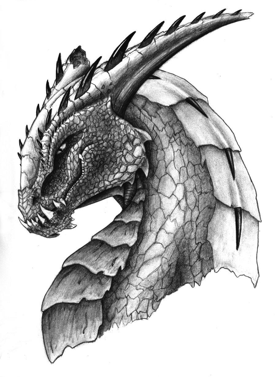 Нюшенька оформления, крутые рисунки драконов простым карандашом