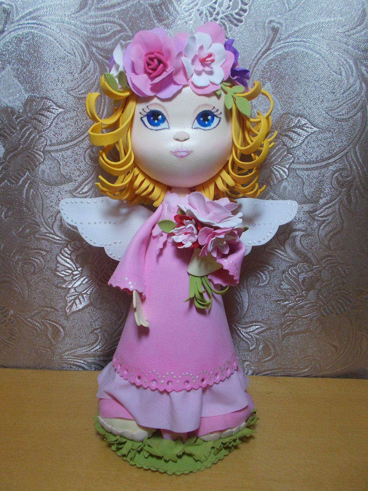 кукла из фоамирана своими руками крепление балясин столбов