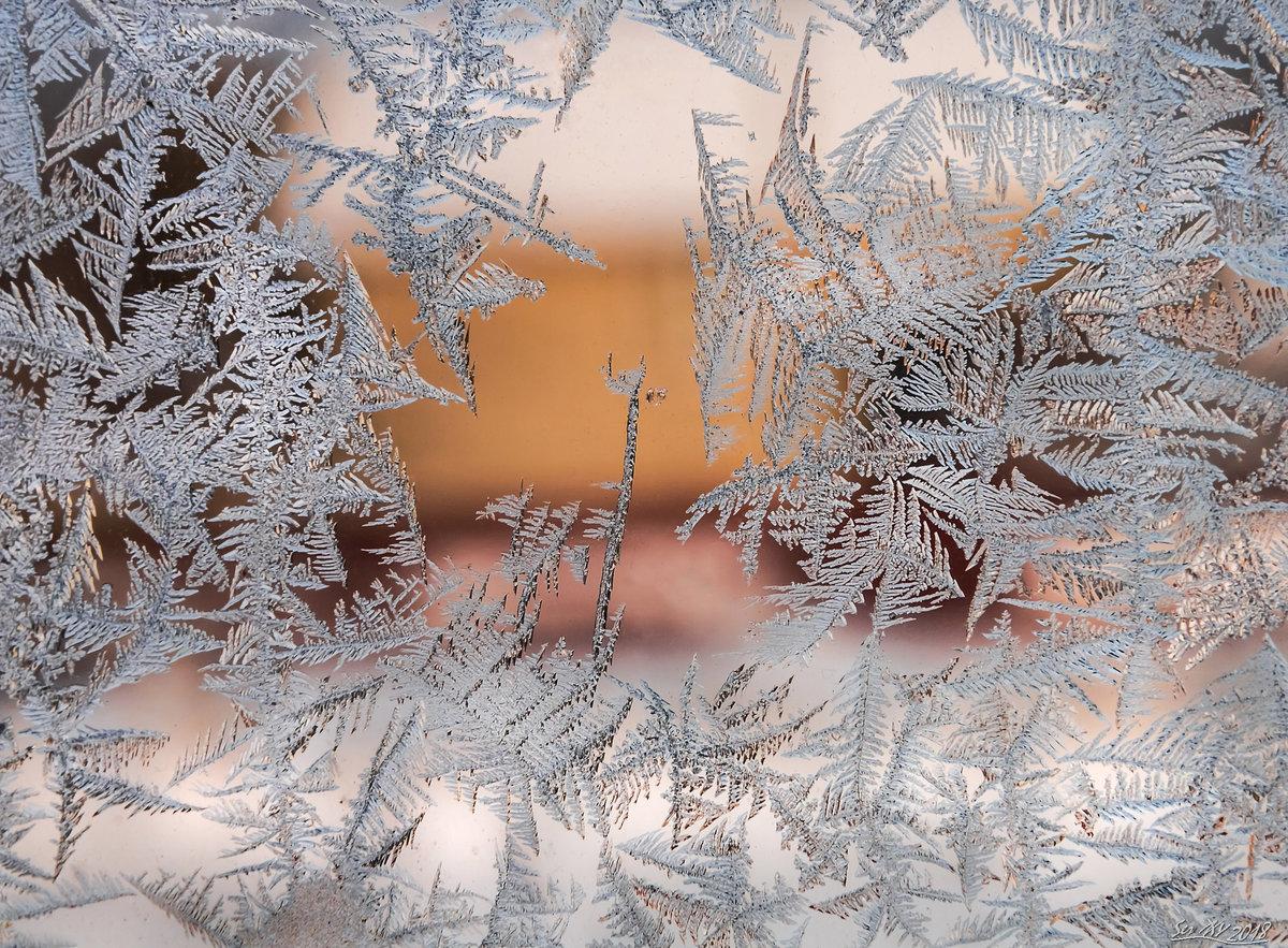 картинки шаблоны морозного окна пятна