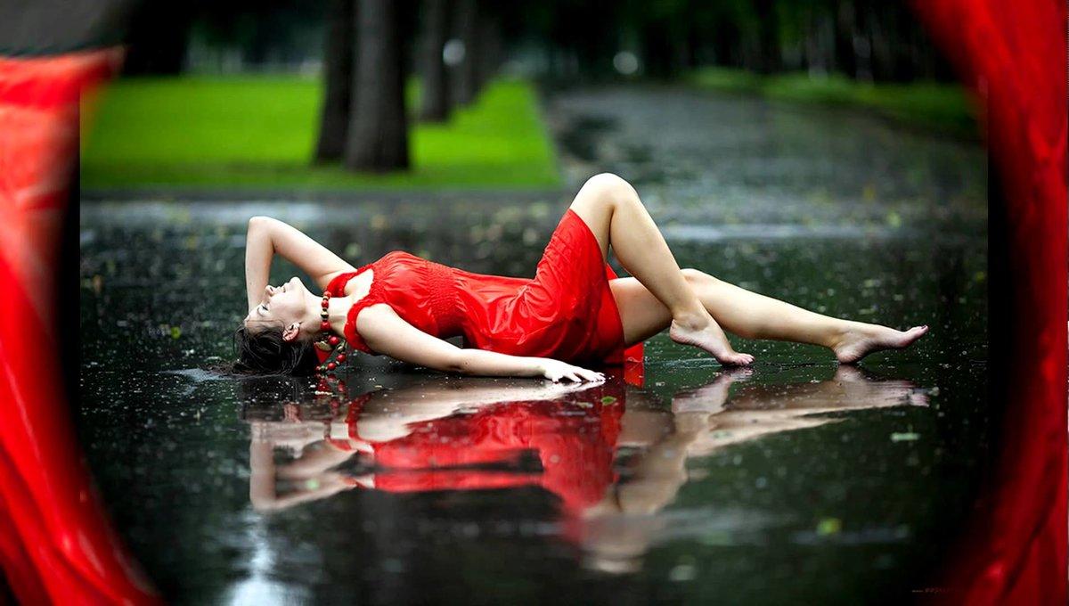 Картинки природа дождь девушка, изолентой