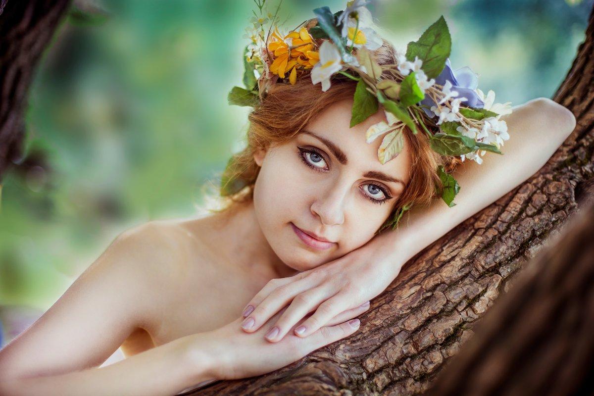 макияж как у лесной нимфы фото фото видимо