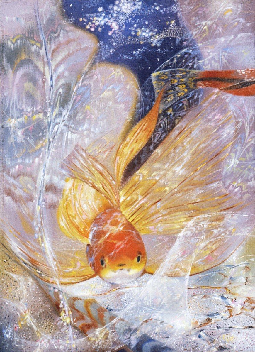 Открытки золотые рыбки, открытки про погоду