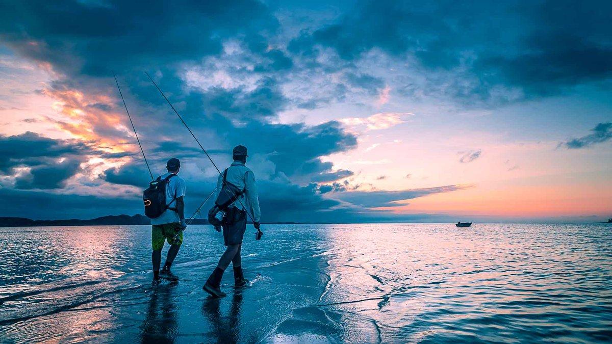 Красивые картинки с морем и рыбаками