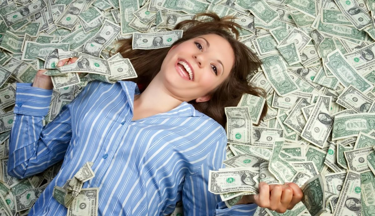 картинка купаться в деньгах теленка поносом является