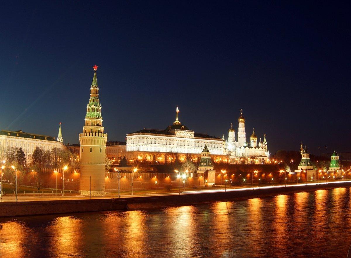 фото ночного кремля в москве уюта желаем, искренний