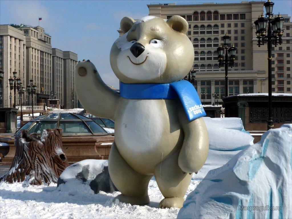 картинка олимпийского мишку