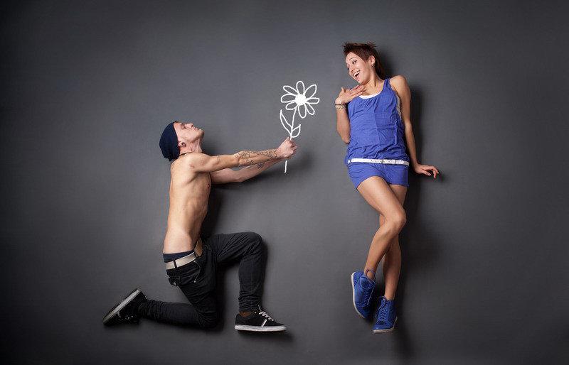 Картинка девушка и парень смешная, крестнице года картинка