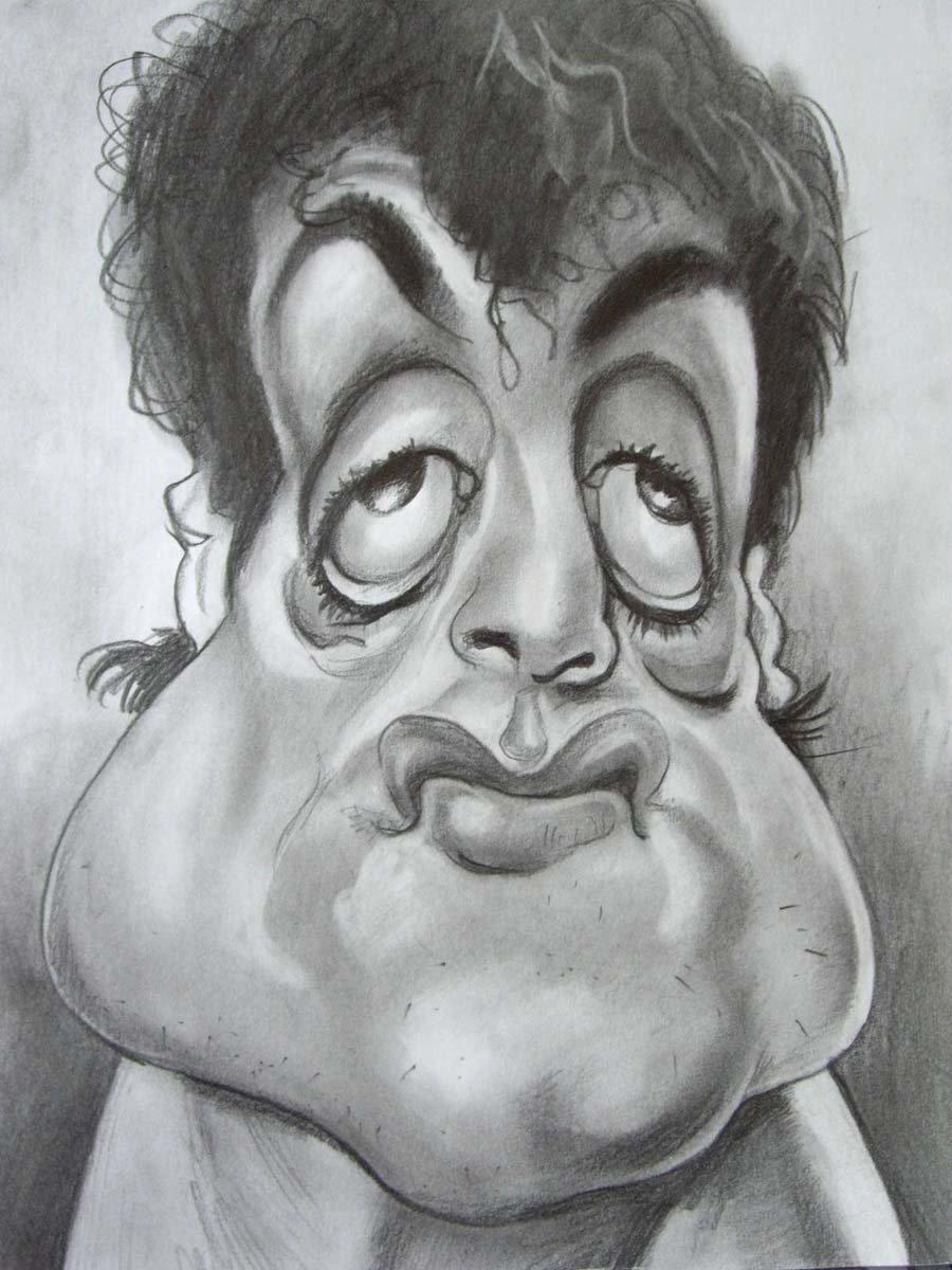 Как называется рисунки лица смешные, петухами курицами