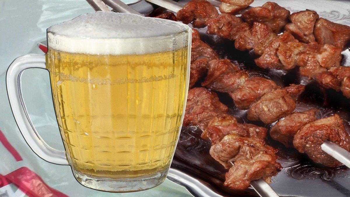 Прикольные картинки шашлыка и пива, для самой обаятельной