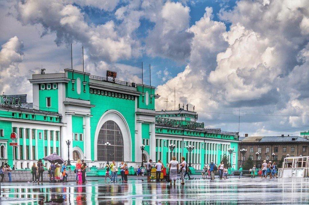 Новосибирский жд вокзал фото