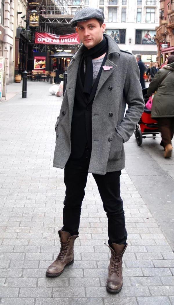 менее, фото обувь на ноги к пальто мужская расти