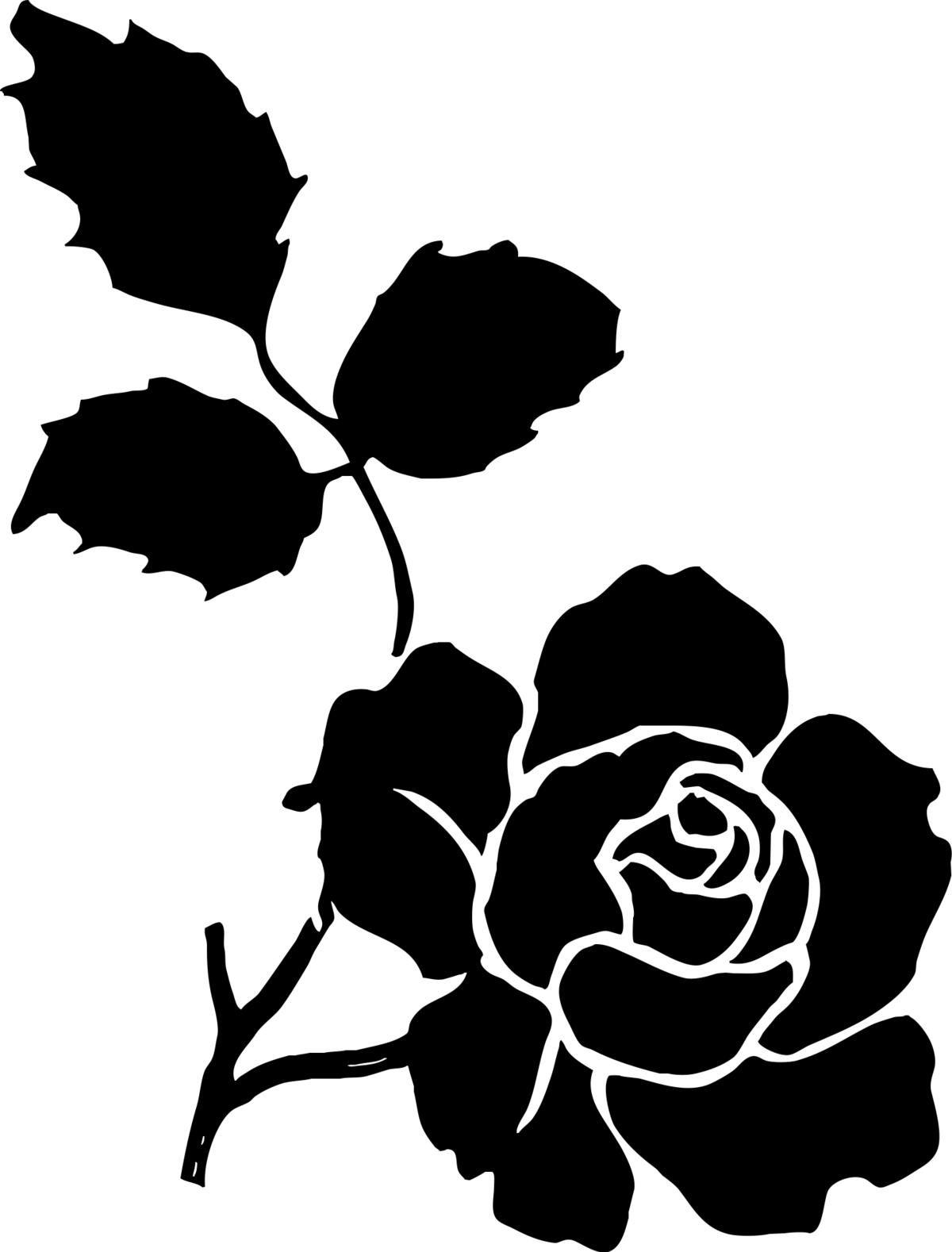 Легким, шаблоны розы