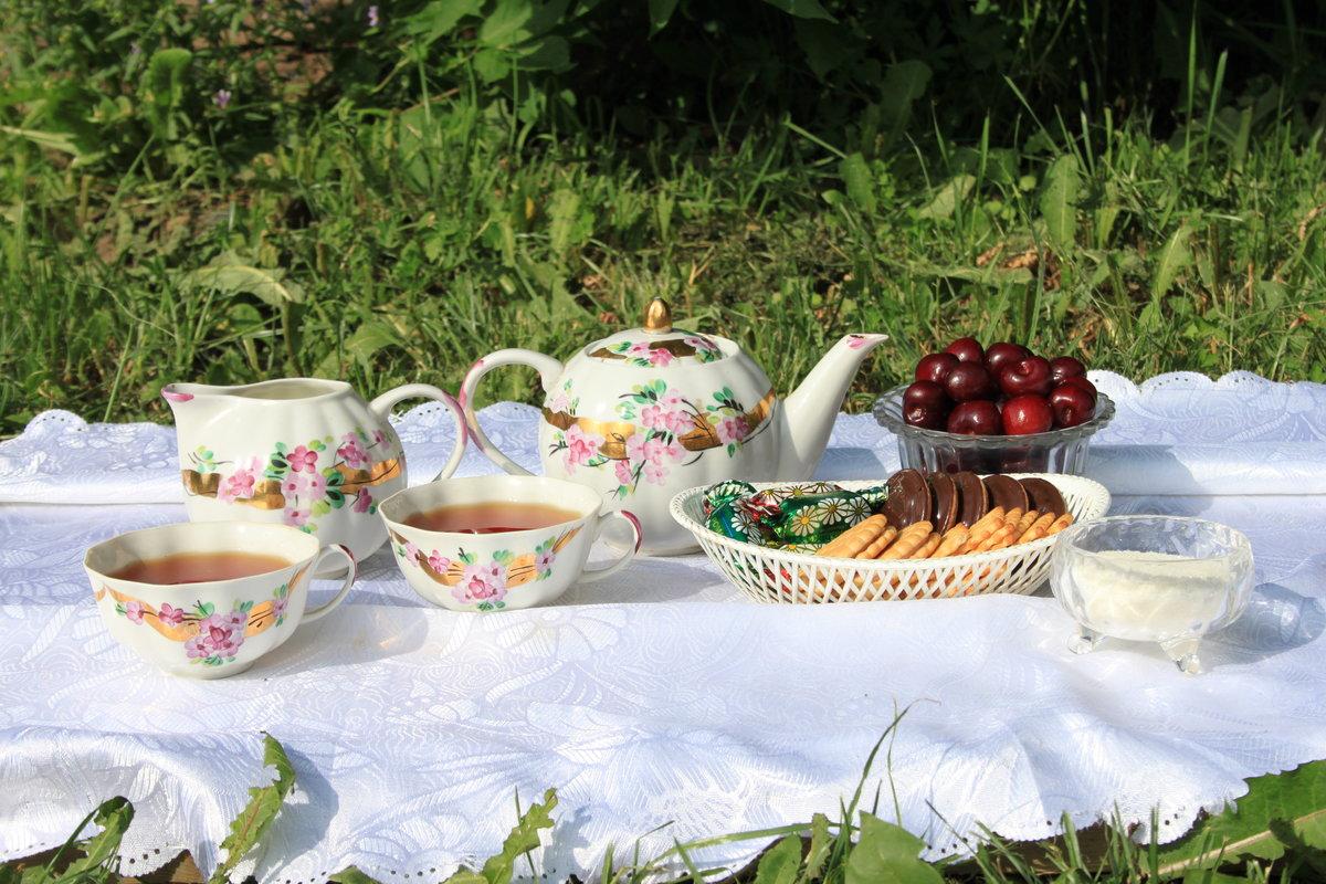 летнее чаепитие картинки стае еще