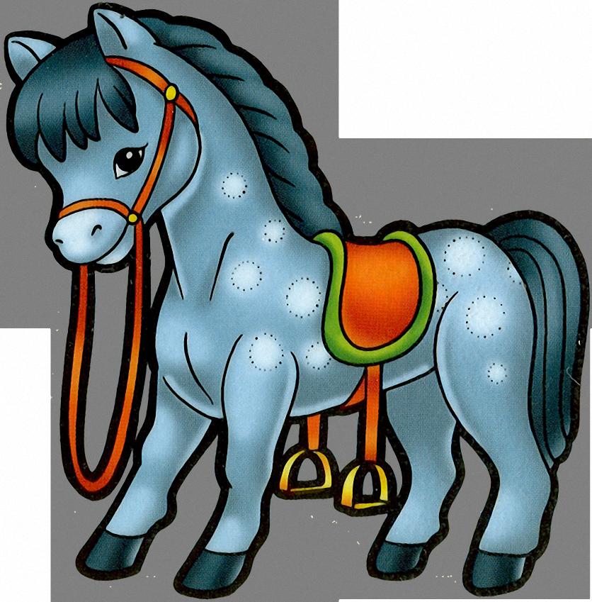 Смешных названий, картинки лошадки мультяшные