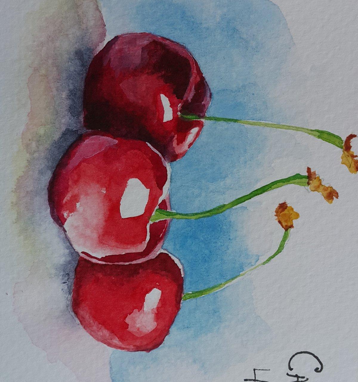 Картинки можно нарисовать красками