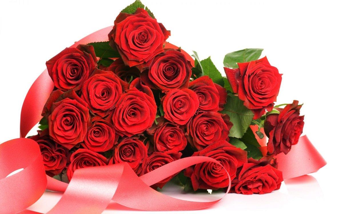 Поздравление картинка с цветком
