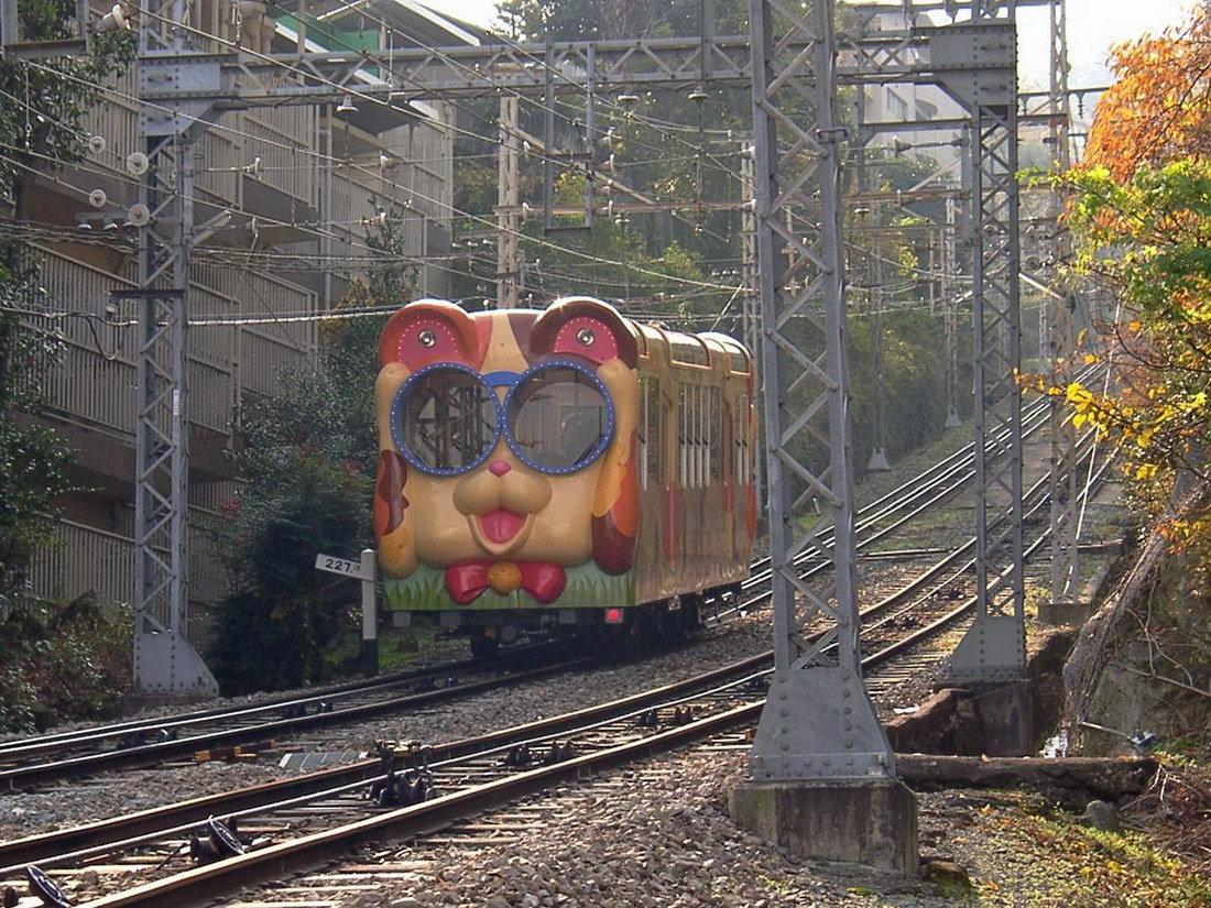 Анимация, картинка поезда смешная