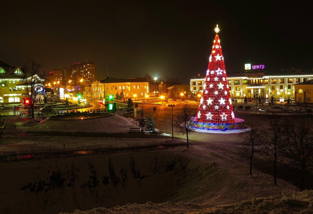 фотографии ночного зимнего дмитрова хорош этот