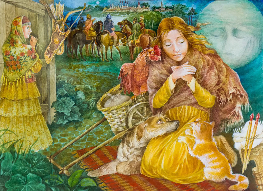 картинка татарская сказка запросу