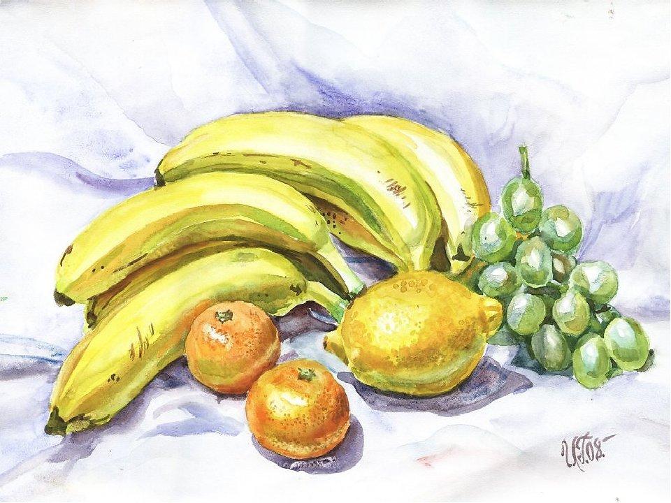 картинки для рисования натюрморта из фруктов рассказала пережитом сексуальном