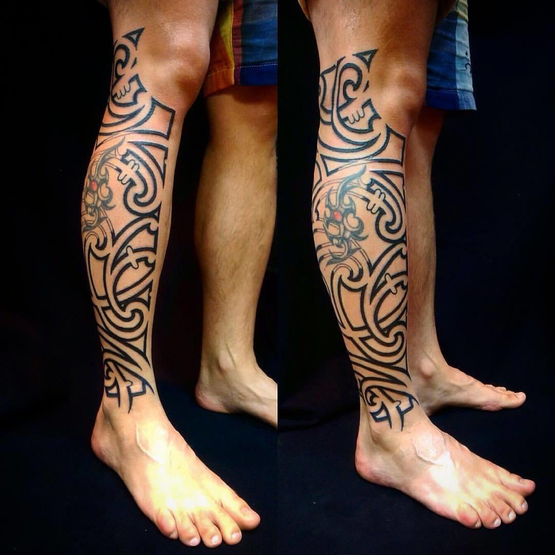 для татушки на ногу для мужчины фото формат