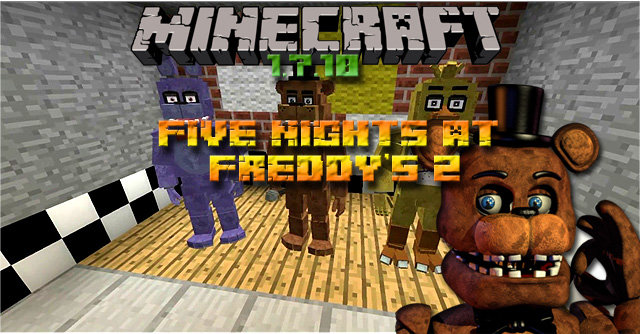 мод на майнкрафт 5 ночей с фредди 1.7.2 #10