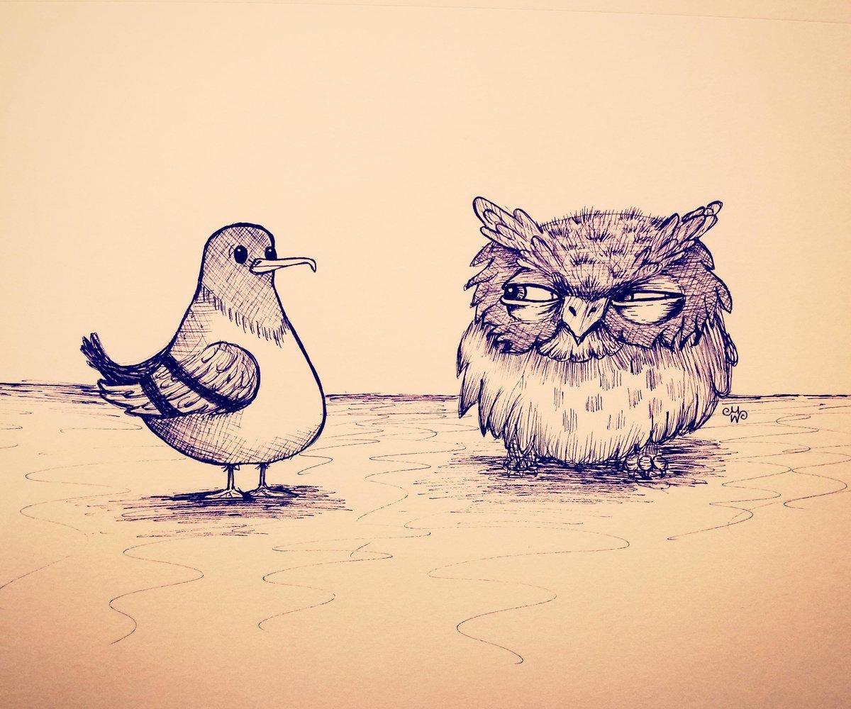 Рисовать смешные картинки ручкой