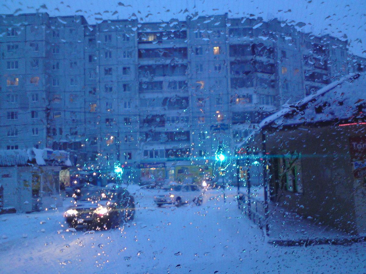 Картинки дождливая зима