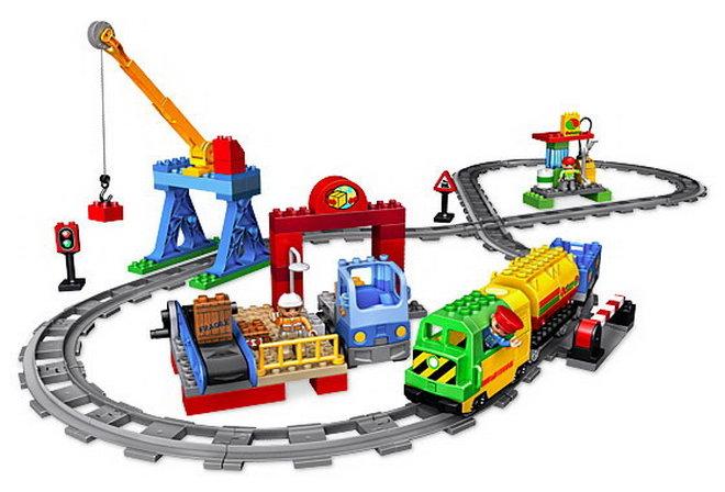 детская железная дорога игрушечная фото