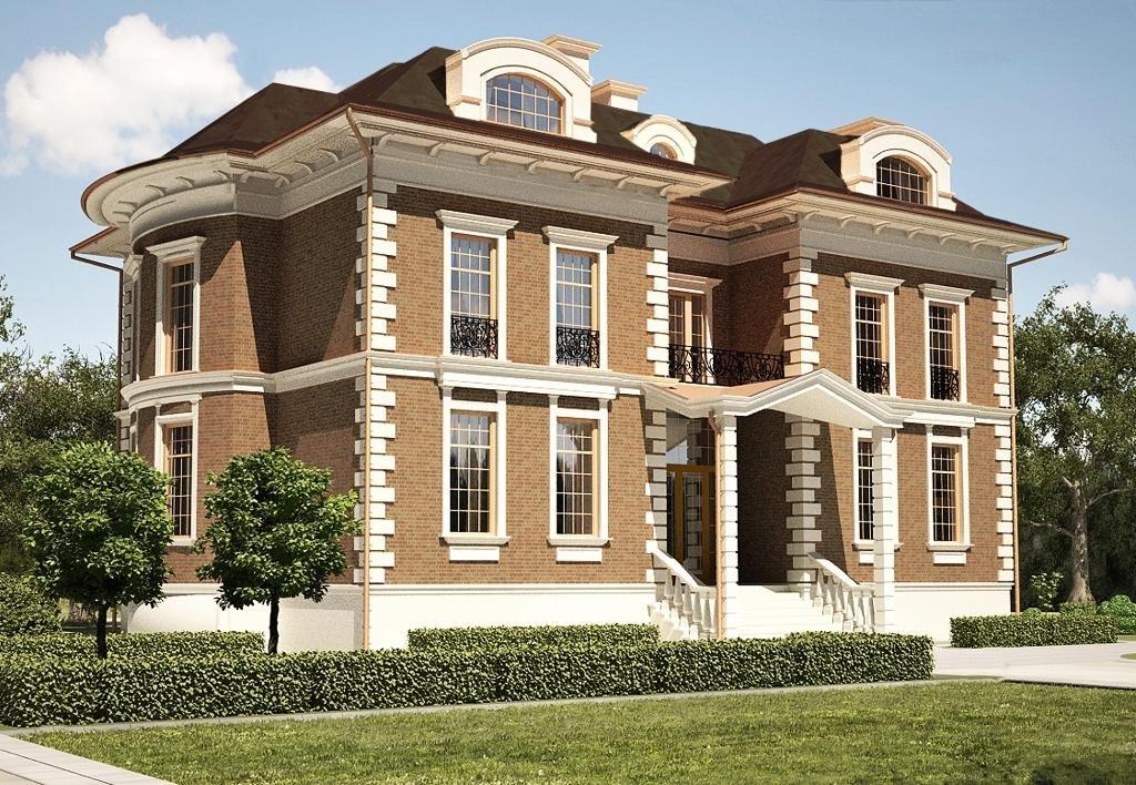 фасады красивых домов в классическом стиле фото