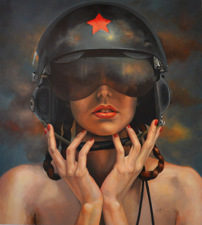 2012, открытки девушки военные