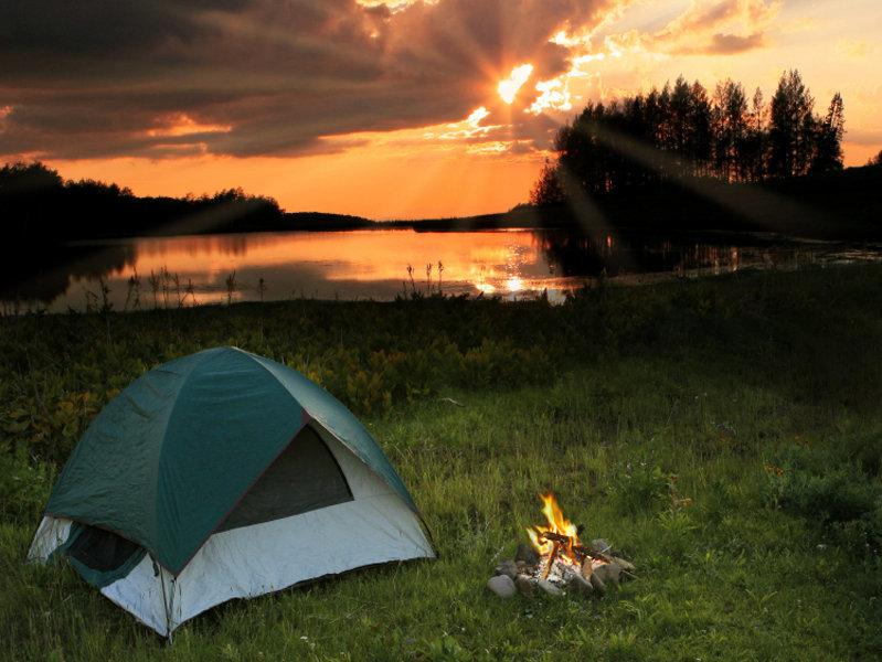 Картинки отдых на природе с палатками возле реки, дню свадьбы
