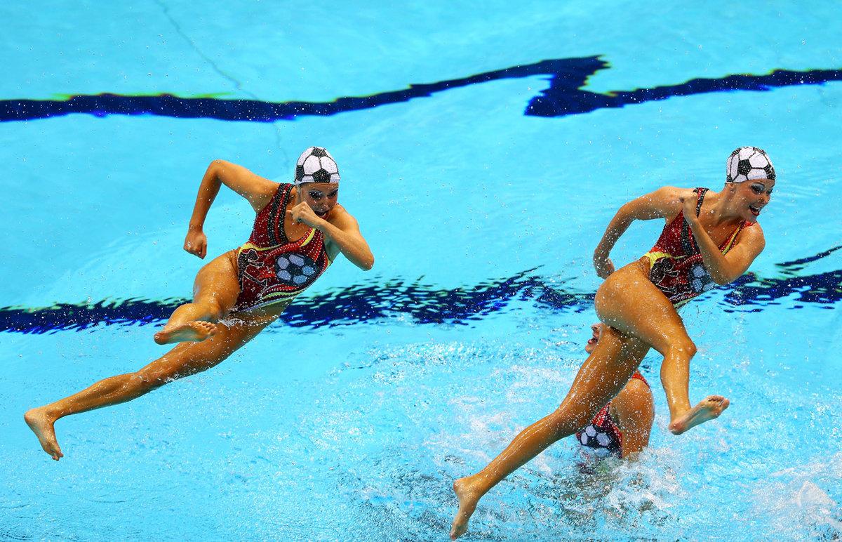 Прикольные картинки про спорт женские, поздравления дню