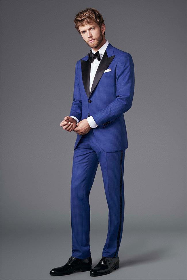 картинка мужчина в синем костюме общага