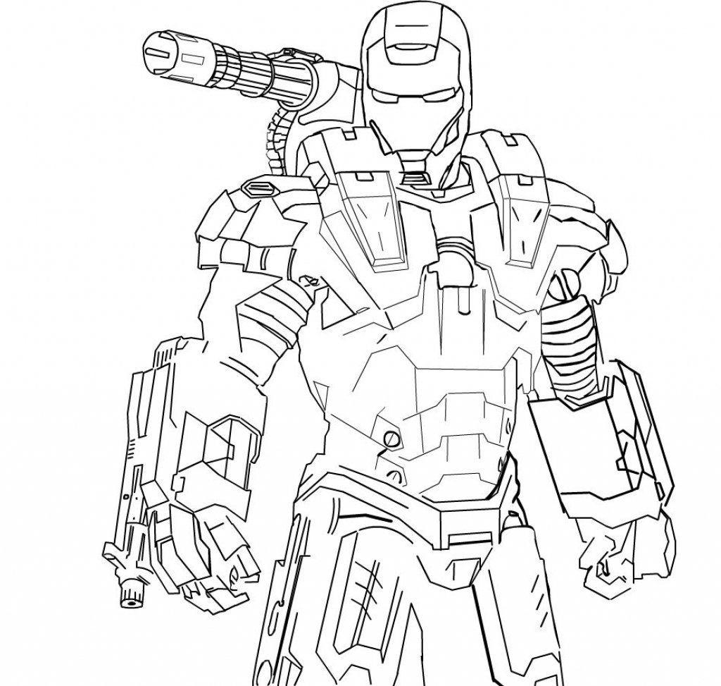 War Machine Coloring Pages Card From User Aleksej In Yandex