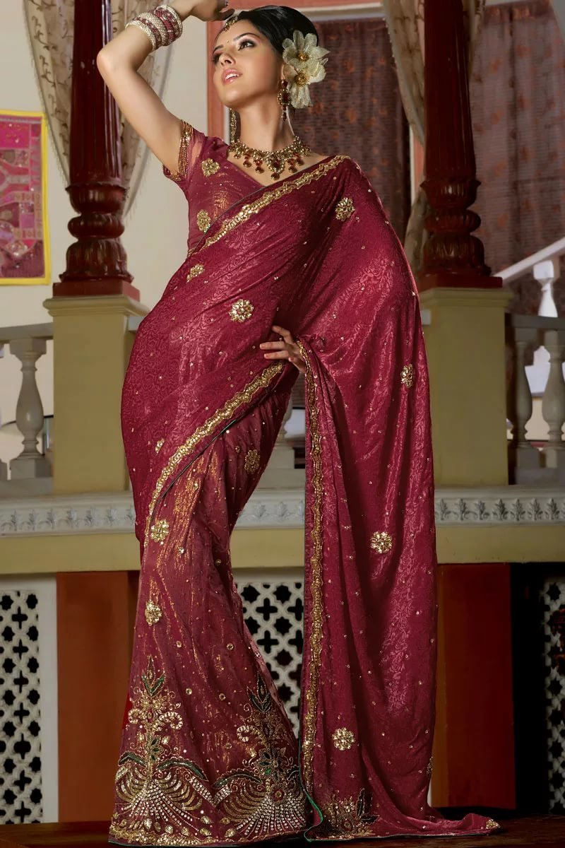 индийское сари фотографии необычное