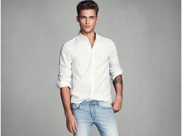 98fb0572ec0c08d Стильная льняная рубашка для настоящих мужчин!» — карточка ...