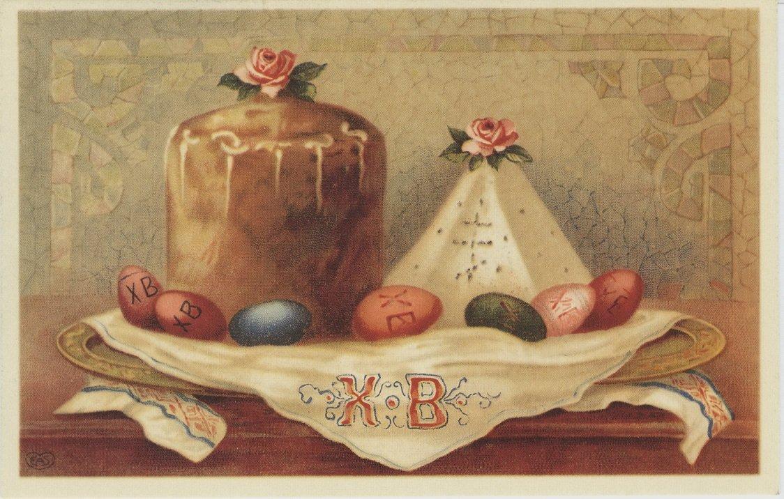 Анимационные, когда появились первые пасхальные открытки