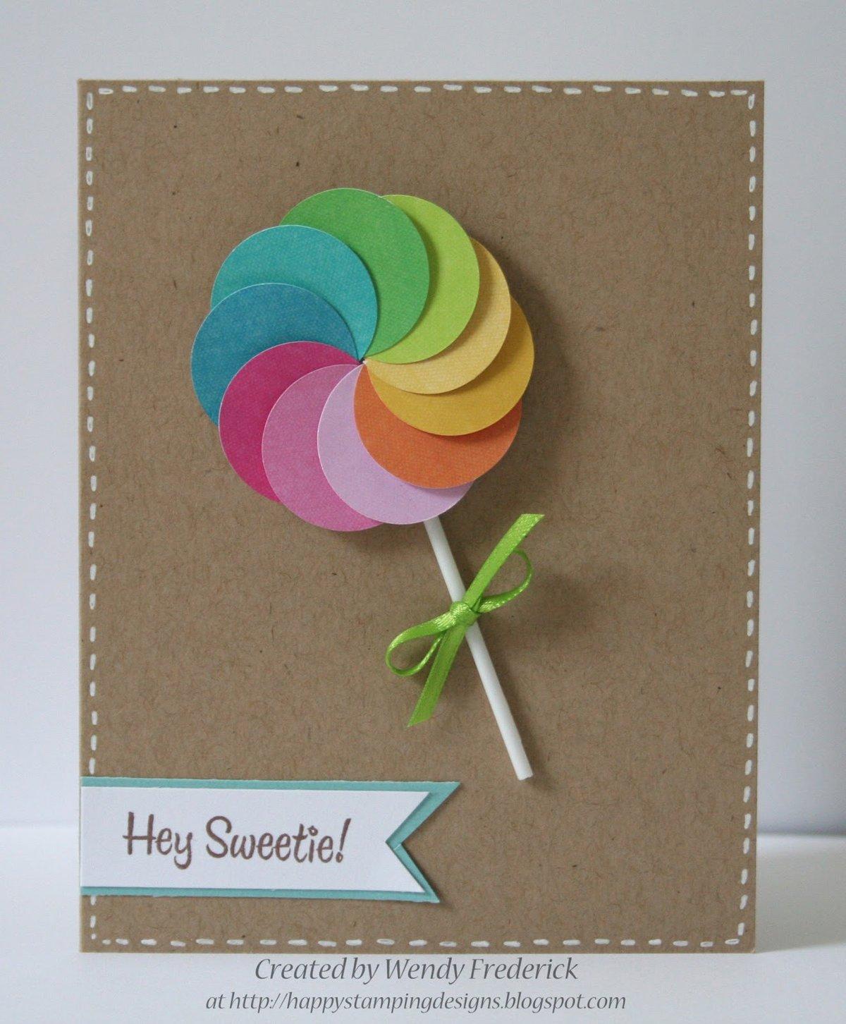 Самодельные открытки на день рождения картинки