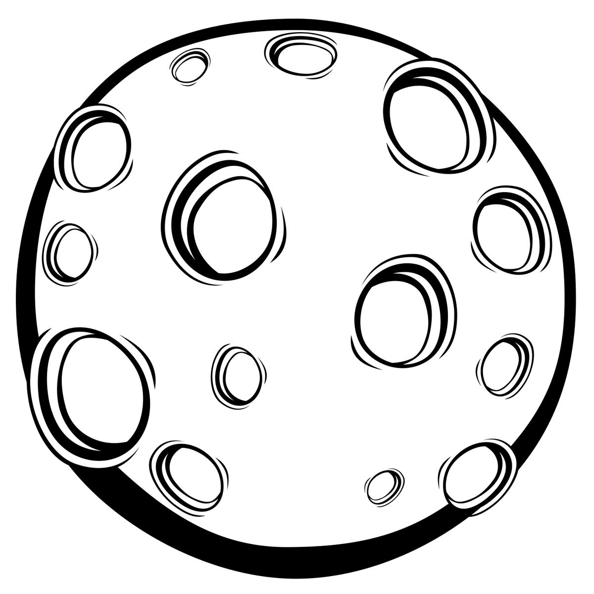 Планеты черно-белые картинки