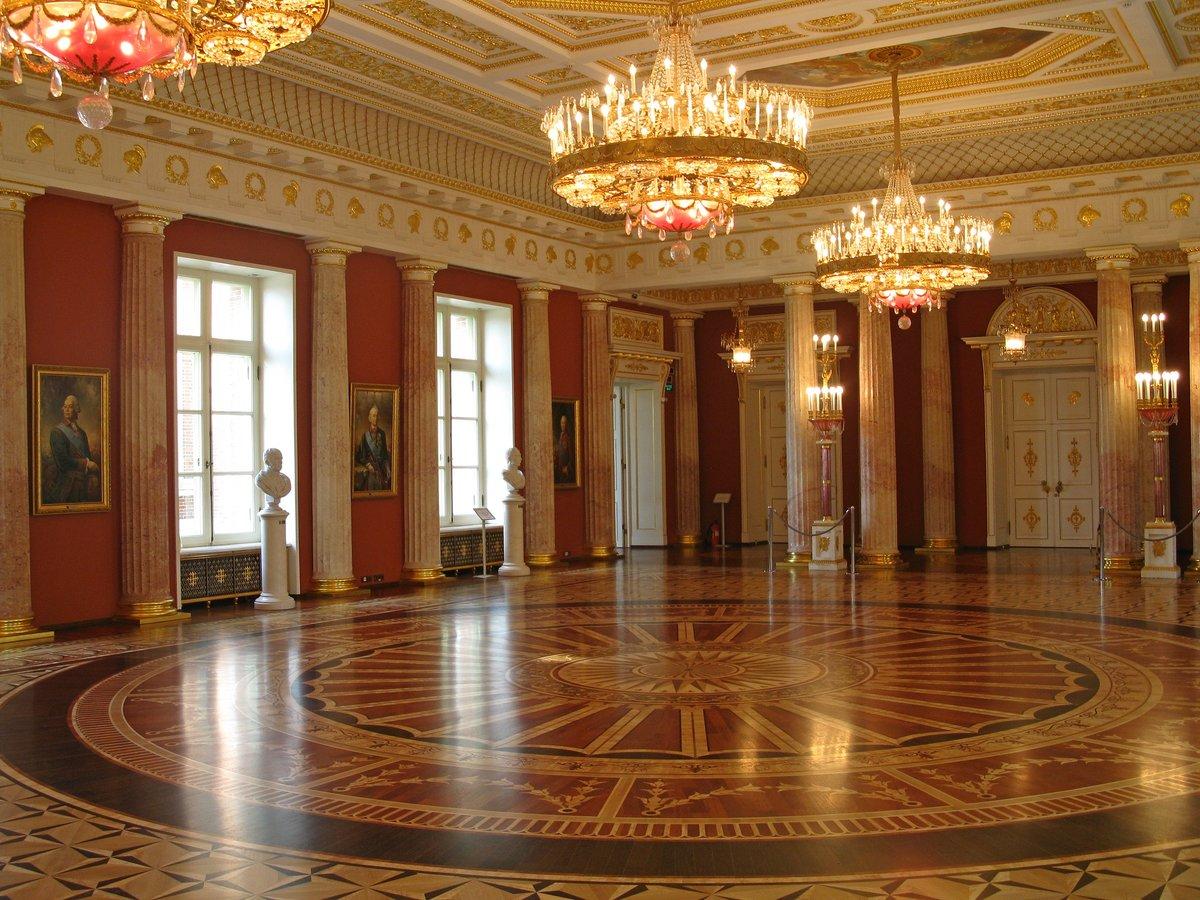 Зала дворца картинка