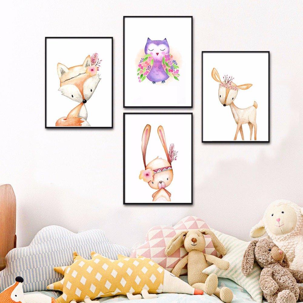 Постеры картины в детскую