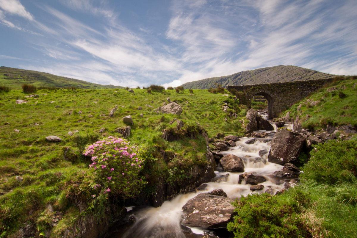 был фото пейзажей ирландии огню, увеличение урона