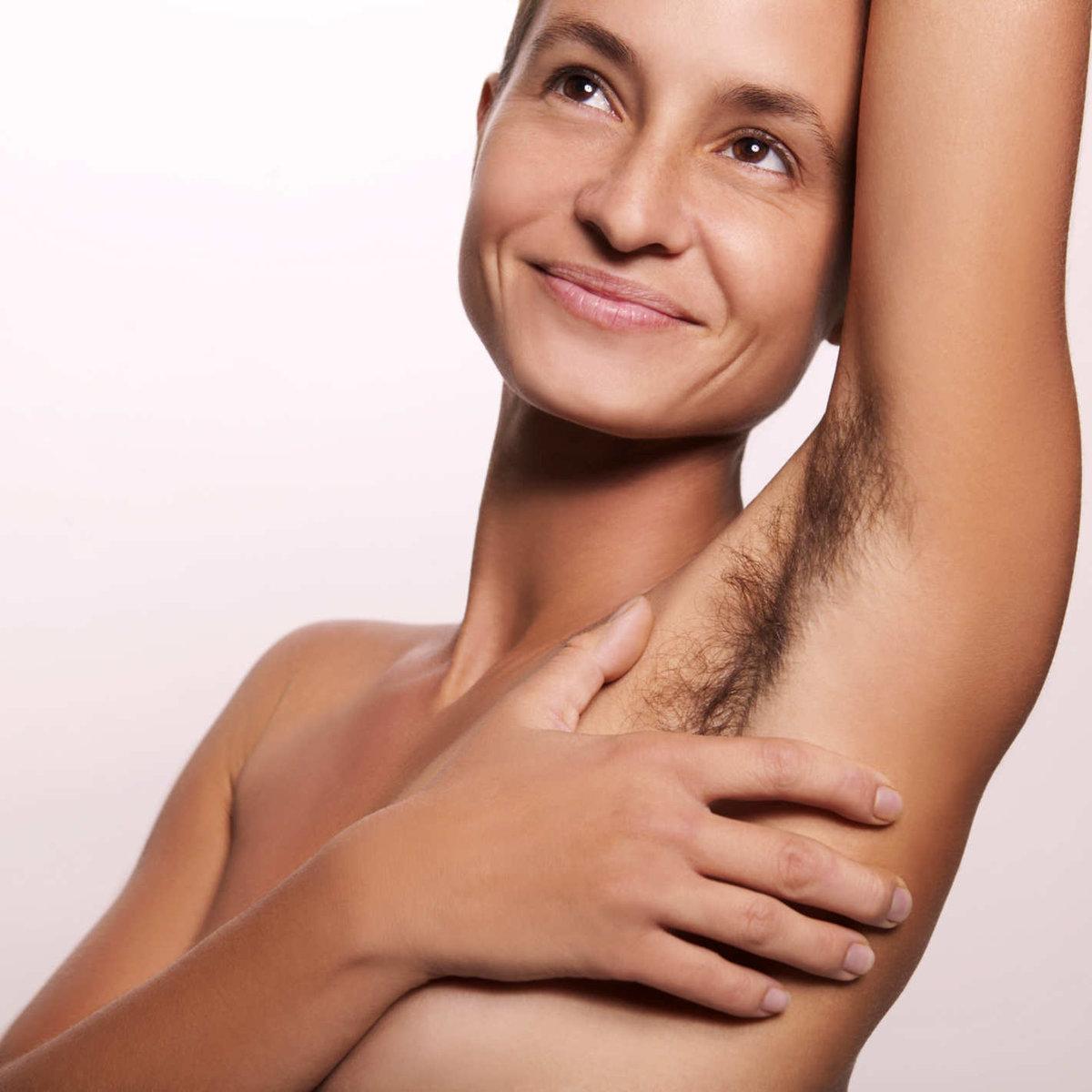 Юлия волосатые кожа у девушки
